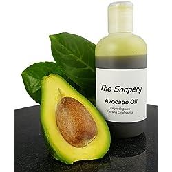 The Soapery, olio vergine di avocado, 250ml–pressato a freddo, 100% puro