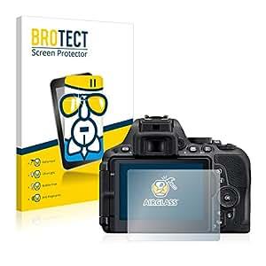 BROTECT AirGlass Protection Verre Flexible pour Nikon D5500 Film Vitre Protection Ecran Transparence - Extra Résistant, Ultra-Léger, Clair