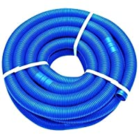 well2wellness 9m Blue Swimming Pool Hose Pool with Fittings 38mm
