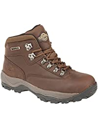 LADIES PEAK LACE UP PREMIUM LEATHER UPPER WATERPROOF WALKING HIKING  TREKKING BOOT ddd7f0f00