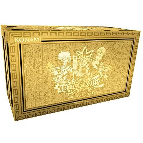 Yu Gi Oh! Ygo-ld2-en Legendary Decks II Box Set.