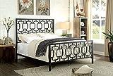 CeCe Schwarz Full Metal Konstruktion King Bett von Möbel von Amerika