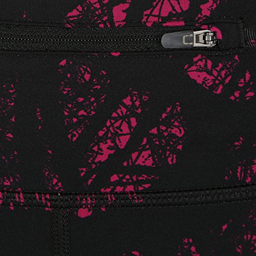 NIKE printed engineered collant pour femme - Fuchsia/argent à reflets