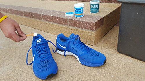 51xWvi4ktmL - Shoe Rescue Polvos para pies y calzado Elimina el olor de pies 100% natural Contiene aceites esenciales Árbol de Té Eucalipto y Menta 100g