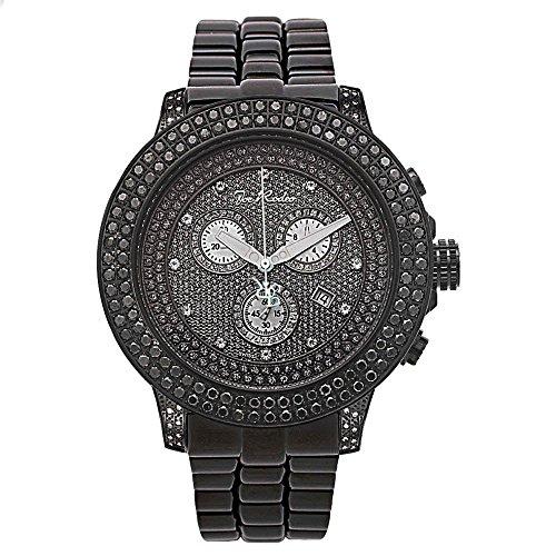 Joe Rodeo Diamond Men's Watch - PILOT black 5.85 ctw