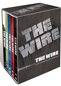 The Wire: Complete HBO Season 1-5 (24 Disc Box Set) [DVD] [2002]