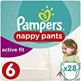 Pampers - Active Fit Pants - Couches Taille 6 (+15 kg) - Pack Géant (x28 culottes)