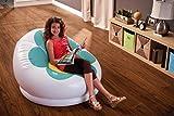 Aufblasbarer Sessel Intex Blume grün - 2