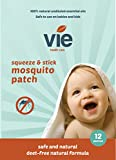 Vie Squeeze And Stick Mosquito Patches Deet free Perfect for the Family.24 Patches. UNIVERSITY TESTED. Patented Microcapsule technology. Made in Italy