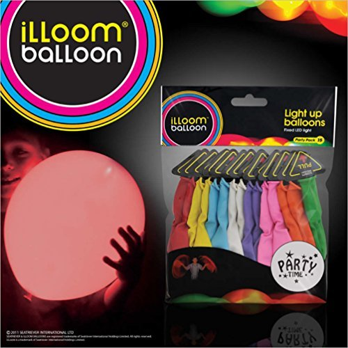 D Light Up Ballons-45pk (gemischt) ()