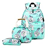 Description: 100% brand new and high quality Features: Comes with 3 in 1: Schoolbags + Lunch bag + Pencil case, made of high quality nylon, durable and sturdy. The main inner compartment of laptop backpack can put notebooks, magazines and so on. The ...