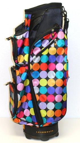 loudmouth-cart-bag-disco-balls-black