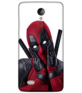 For Vivo Y21L man in mask, man, man with sword, white background Designer Printed High Quality Smooth Matte Protective Mobile Case Back Pouch Cover by APEX