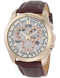 Citizen Eco-Drive Chronograph White Dial Men's Watch - AT1183-07A -24 cm