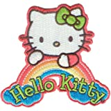 C&D Visionary dreamrainb-patch Hello Kitty, Acryl, mehrfarbig