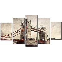 hibia Mural De 5 Paneles Impresión De Lienzo Grande Arte De Pared Foto De Decoración Del