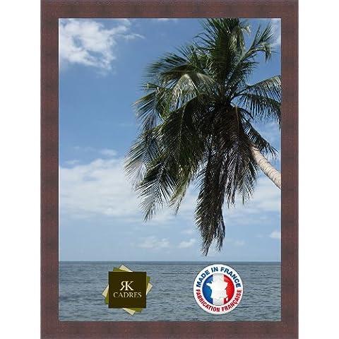 Marco de foto de la pared 50x70 / 50 x 70 marco de la foto Wenge, 4.5 cm de ancho, Marco de madera de fotos
