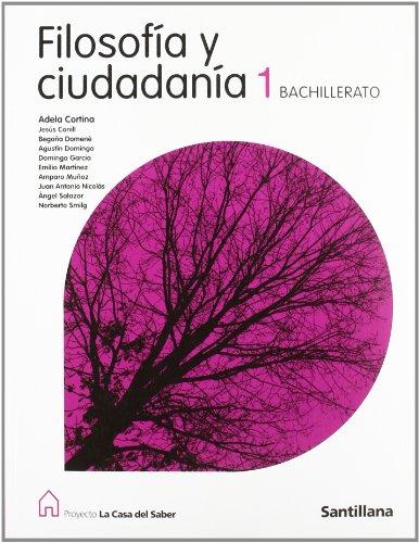 Filosofía y ciudadanía (1 Bachillerato) - 9788429443721