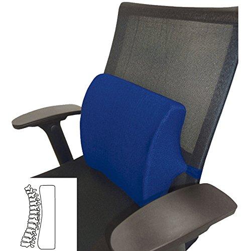 Bandscheibenkissen Stützkissen Rücken JEMIDI Kissen orthopädisches Sitzkissen Stütz Rückenkissen Bandscheiben Wirbelsäulen Blau