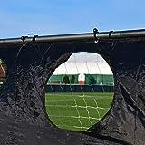 Torwand für Fußballtore – Zielschussplane 3x2m - 6