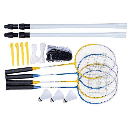 Unbekannt Toyrific Baseline 4Spieler Badminton-Set