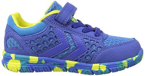 Hummel Crosslite Infant, Unisex-Kinder Low-Top Sneaker Blau (Brilliant Blue)