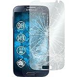 PhoneNatic 2 x Glas-Folie klar für Samsung Galaxy S4 Panzerglas für Galaxy S4