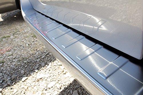 Preisvergleich Produktbild tuning-art L105 Edelstahl Ladekantenschutz mit Abkantung fahrzeugspezifische Passform
