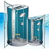 AcquaVapore DTP6037-4100 Dusche Duschtempel Komplett Duschkabine 100x100