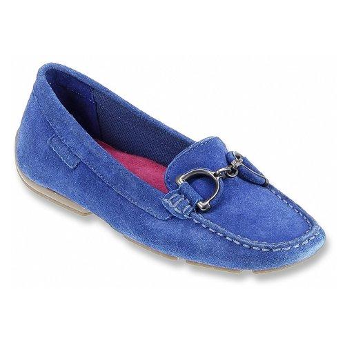 Azul Slip Hush on Camurça Loafer Cora De Puppies qxYZAz