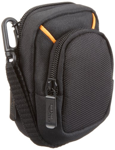 AmazonBasics Point and Shoot Camera Case (Black)