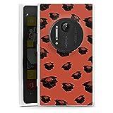 DeinDesign Nokia Lumia 1020 Hülle Silikon Case Schutz Cover Gedanken Selbstständig Statement