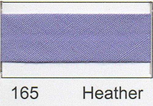Polycotton Schrägband 25mm–Heather (2,5m)