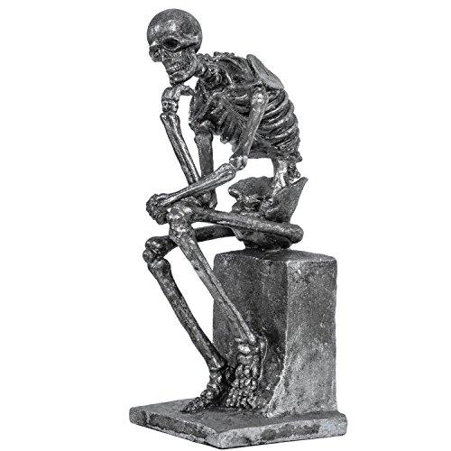 Escultura Esqueleto Pensador según Rodin Figura Estilo