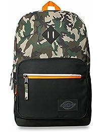 DICKIES Study Hall Backpack camo/black/orang
