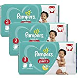 Couches Pampers - Taille 3 baby dry pants - 130 couches bébé