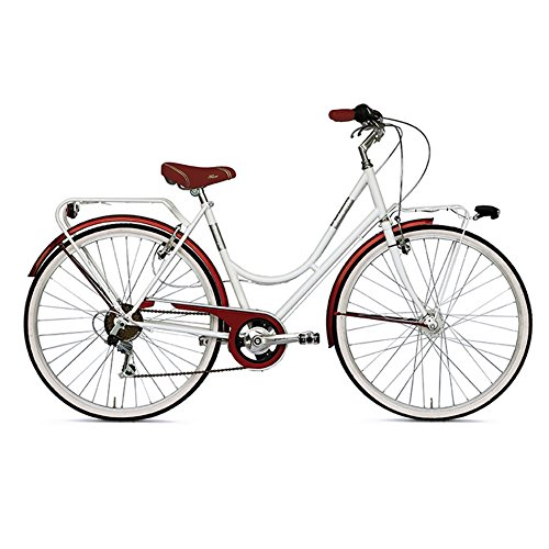 VERTEK DE MUJER 6 PARA BICICLETA 26 VELOCITABLANCO LECHE (CITY)/BICYCLE LONDRES FOR WOMAN 26 6 SPEED WHITE MILK (CITY)