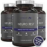 Sleeping Pills with 5 HTP - Plus Natural Melatonin Sources, L-Tryptophan, Magnesium, Chamomile, Biotin and L-Taurine | Aid Sleep and Anxiety Relief - without the side effects of excessive 5-HTP | Neuro Rest by Utmost Me