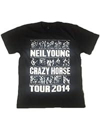 Neil Young - FOTO Rayas Tour - Camiseta Oficial Hombre