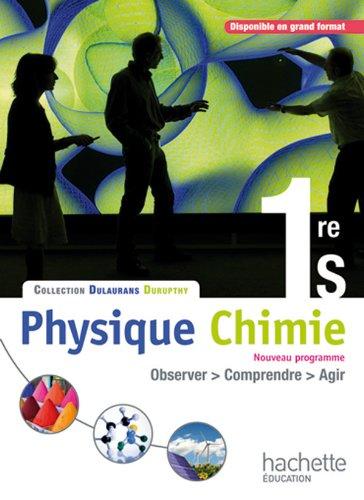 Physique-Chimie 1re S - Livre élève Format compact - Edition 2011 par M. Barde