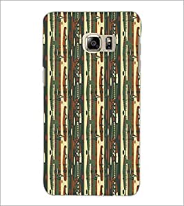 PrintDhaba Pattern D-5232 Back Case Cover for SAMSUNG GALAXY NOTE 5 EDGE (Multi-Coloured)