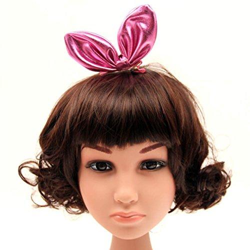 La Vogue Pince De Cheveux Bébé Fille Lapin Oreille Clip Barrette Broche Épingle Rose