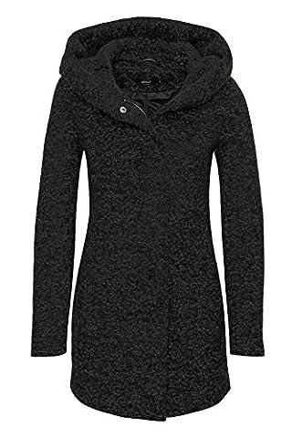 ONLY Damen Mantel Onlindie Noma Wool Coat CC Otw, Schwarz