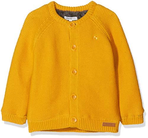 Noppies Unisex Baby Strickjacke U Cardigan Knit ls Lou, Gelb (Honey Yellow C036), 62