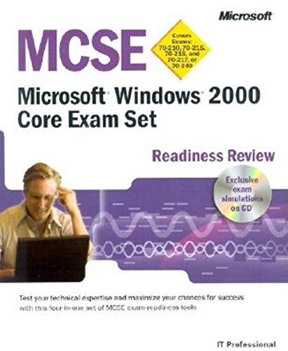 MCSE Readiness Review: Windows 2000 Core Exam Set por Microsoft Press