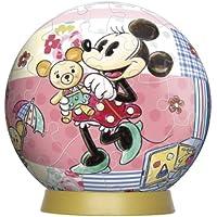 Comparador de precios 3D Esfera del rompecabezas de 60 piezas Disney Minnie & Bear (di?metro de unos 7,6 cm) (Jap?n importaci?n / El paquete y el manual est?n escritos en japon?s) - precios baratos