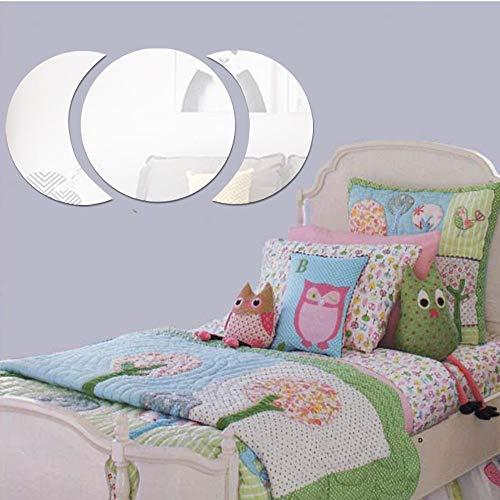 Triple Moon 3D Spiegel Wandaufkleber Kunst Acylic Entfernbare Wand Poster Aufkleber Dekor Dekoration DIY Für Schlafzimmer Badezimmer