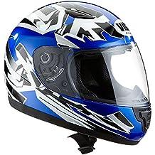Protectwear Casco de moto de los niños azul SA03-BL Tamaño S (juventud XL