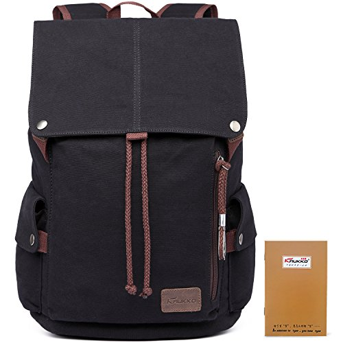 Price comparison product image New canvas backpack computer travel bag bag leisure neutral retro elegant and cool