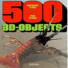 500 objets en 3D, vol.1, livre avec 2CD (en anglais, en français, en allemand)